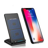 billige -Trådløs Oplader USB oplader USB Trådløs Oplader / Automatisk strømjustering / Hurtig opladning 1 USB-port 2 A DC 9V iPhone 8 Plus /