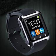 billige Sportsur-Par Automatisk Selv-optræk Armbåndsur Kinesisk Bluetooth Vandafvisende Skridttællere Afslappet Ur Stopur Silikone Bånd Luksus Mode Sort