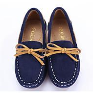 tanie Obuwie chłopięce-Dla chłopców / Dla dziewczynek Obuwie Nubuk / Skóra Wiosna Wygoda Mokasyny i buty wsuwane na Ciemnoniebieski / Ciemnozielony