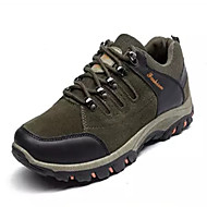 hesapli Dağ Yürüyüşü-Kadın's Ayakkabı Tül Bahar / Yaz / Sonbahar Rahat Dağ Yürüyüşü Düz Taban Dış mekan için Koyu Gümüş / Gri / Yeşil