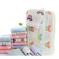 Frischer Stil Waschtuch,Kreativ Gehobene Qualität Reine Baumwolle gewebtes Jacquard Handtuch