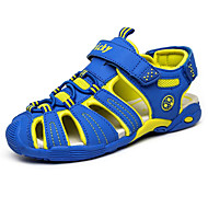 baratos Sapatos de Menino-Para Meninos Sapatos Couro Verão Conforto Sandálias para Azul Escuro / Cinzento Escuro / Azul Real