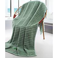tanie Ręcznik kąpielowy-Świeży styl Ręcznik kąpielowy, Prążki Najwyższa jakość Czysta bawełna Tkana Jacquard Ręcznik