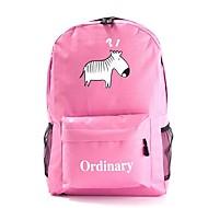 tanie Plecaki-Dla dzieci Torby Tkanina Oxford plecak Zamek na Na wolnym powietrzu Na każdy sezon Niebieski Black Blushing Pink Fuchsia
