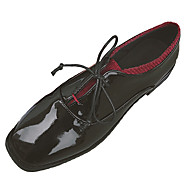 cheap Women's Oxfords-Women's Shoes PU Spring Comfort Oxfords Flat Heel Round Toe for Casual Black
