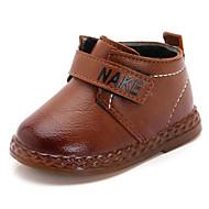 お買い得  ベビー用靴-赤ちゃん 靴 レザーレット 春 秋 赤ちゃん用靴 コンフォートシューズ ブーツ ブーティー/アンクルブーツ のために カジュアル ブラック Brown レッド