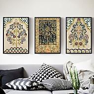 Χαμηλού Κόστους Εκτυπώσεις σε Κορνίζα-Θέμα Κήπος Ελαιογραφία Wall Art,Κράμα Αλουμινίου Υλικό με Πλαίσιο For Αρχική Διακόσμηση Πλαίσιο Τέχνης Σαλόνι Εσωτερικό