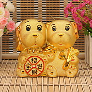 cheap Decorative Objects-Holiday Vintage Theme Ceramics Artistic/Retro,Coin Banks Decorative Accessories
