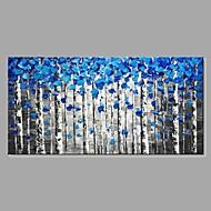 preiswerte -Handgemalte Abstrakt Landschaft Horizontal, Klassisch Modern Segeltuch Hang-Ölgemälde Haus Dekoration Ein Panel