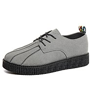 cheap Men's Shoes-Men's Shoes Rubber Spring Fall Comfort Oxfords for Outdoor Black Gray Yellow Red