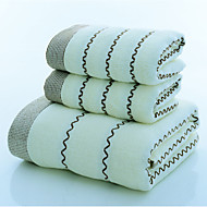 cheap Towels & Robes-Fresh Style Bath Towel, Word / Phrase Superior Quality Poly/Cotton Woven Jacquard Towel