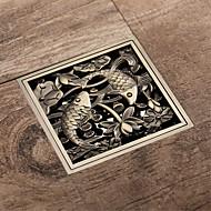 preiswerte Produkte für das Badezimmer-Abfluss Antike Messing Integriert