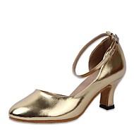"""billige Moderne sko-Dame Moderne Kunstlær Sandaler Profesjonell Tykk hæl Gull 2 """"- 2 3/4"""" Kan spesialtilpasses"""
