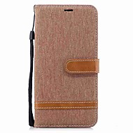 billiga Mobil cases & Skärmskydd-fodral Till Lenovo K8 Note Korthållare Plånbok Stötsäker Lucka Magnet Fodral Ensfärgat Hårt Textil TPU för Lenovo K8 Note