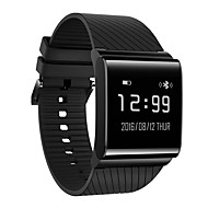 baratos Equipamentos & Acessórios Fitness-X9 PLUS Relógio inteligente iOS Android Monitor de Batimento Cardíaco IP67 Impermeável Pedômetros Monitoramento do Sono Medição de