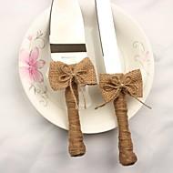 cheap Serving Sets-Linen/Cotton Blend metal Wedding Birthday 1 Set / Color Box Serving Sets