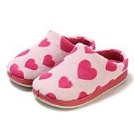 baratos Sapatos de Menina-Para Meninas Sapatos Flanelado Inverno Conforto / Calçado vulcanizado Chinelos e flip-flops para Fúcsia