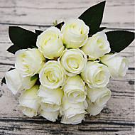 billige Kunstig Blomst-Kunstige blomster 18 Afdeling pastorale stil Roser Bordblomst