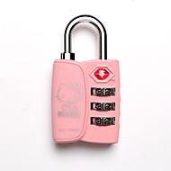 billige Tastelåser-hei kitty bagasje passord lås 3 digital krypteringslås for skap / treningsstudio&sports skap