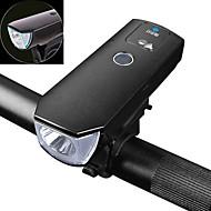 halpa -Pyöräilyvalot LED-valonheittimet LED Pyöräily Smart LED-valaistus Vedenkestävä Smart-tunnistuksella Ladattava akku 350 Lumenia USB