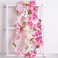 cheap -Artificial Flowers 1 Branch Wedding / European Sakura Wall Flower