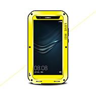 billiga Mobil cases & Skärmskydd-fodral Till Huawei P9 Fri Från Vatten / Smuts / Stöt Fodral Ensfärgat Hårt Metall för Huawei P9 Plus Huawei P9