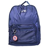 baratos Mochilas-Homens Bolsas Tecido Oxford mochila Ziper Azul / Branco / Preto