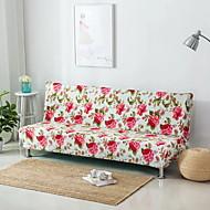 billige Overtrekk-Moderne Rustikk 100% Polyester Mønstret Toseters sofatrekk, Enkel Blomstret Trykket slipcovere