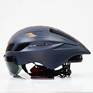 Voksen sykkelhjelm Flyvehjelm 6 Ventiler CE Nedslags Resistent Lettvekt Ventilasjon ESP+PC sport Sykling / Sykkel Sykkel - Svart / Hvit Svart / Rød Svart+Gylden