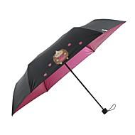 billige Bestselgere-Tøy Alle Sol & Regn / Vinntett / ny Sammenfoldet paraply
