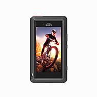 billiga Mobil cases & Skärmskydd-fodral Till Sony Xperia XZ1 Fri Från Vatten / Smuts / Stöt Fodral Ensfärgat Hårt Metall för Sony Xperia XZ1