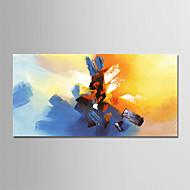 Hang-Dipinto ad olio Dipinta a mano - Astratto Modern Senza telaio interno / Tela arrotolata