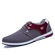 baratos Sapatos Masculinos-Homens Jeans Primavera / Outono Conforto Tênis Preto / Cinzento / Azul