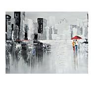 halpa -Hang-Painted öljymaalaus Maalattu - Abstrakti Maisema Comtemporary Moderni Kangas