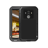 billiga Mobil cases & Skärmskydd-fodral Till Huawei Mate 10 pro Fri Från Vatten / Smuts / Stöt Fodral Ensfärgat Hårt Metall för Mate 10 pro