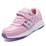 baratos Sapatos de Menina-Para Meninas Sapatos Borracha Primavera Conforto Tênis para Roxo / Fúcsia