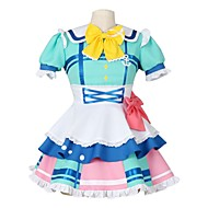 cheap Anime Cosplay-Inspired by Love Live Other Anime Cosplay Costumes Cosplay Suits Other Short Sleeves Cravat Dress Socks Bow More Accessories For Men's