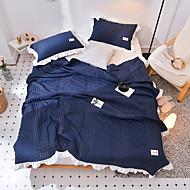 billiga Täcken och överkast-Bekväm Polyester/Bomull Blandning Polyester/Bomull Blandning Färgat garn 300 Tc Enfärgad