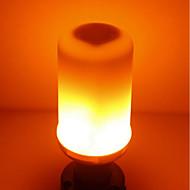 billige Kornpærer med LED-SENCART 1pc 5W 700 lm E14 GU10 E26/E27 B22 LED-kornpærer T 96 leds SMD 2835 Flamme Flimrende Varm hvit 85-265V