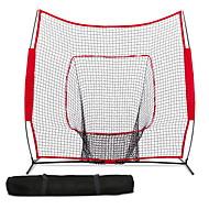 Χαμηλού Κόστους Μπέιζμπολ-214*214*107 Μπέιζμπολ / Δίχτυ παιχνιδιού Πρακτική Χτύπημα Τράβηγμα Κτύπημα με ρόπαλο Ελκυστικός Αθλητικά Αναδιπλούμενο Εκπαιδευτικά