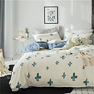 tanie Floral Duvet Okładki-Zestawy kołdra okładka Kwiaty 100% bawełna Reactive Drukuj 4 elementy