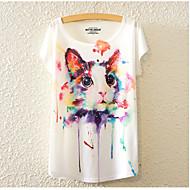 Dame-Dyr Basale T-shirt