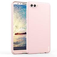 billiga Mobil cases & Skärmskydd-fodral Till Huawei nova 2s Stötsäker Ringhållare Skal Ensfärgat Hårt Plast för Huawei nova 2s