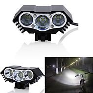 cheap -Bike Lights LED LED Cycling Waterproof 18650 3000 Lumens DC Powered Cycling/Bike