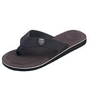 tanie Obuwie męskie-Męskie Komfortowe buty Materiał Lato Klapki i japonki Czerwony / Zielony / Wielbłąd