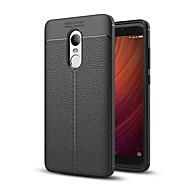 billiga Mobil cases & Skärmskydd-fodral Till Xiaomi Redmi 5 Plus Redmi Note 4X Stötsäker Skal Ensfärgat Mjukt TPU för Xiaomi Redmi Note 4X Xiaomi Redmi 5 Xiaomi Redmi 5