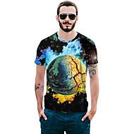 Majica s rukavima Muškarci - pretjeran Color block Print