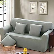 billige Overtrekk-Moderne 100% Polyester Mønstret Toseters sofatrekk, Enkel Ensfarget Trykket slipcovere
