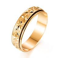 Herre Band Ring - Guldbelagt Mode 7 / 8 / 9 Guld Til Gave / Valentine