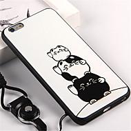 Θήκη Za Apple iPhone 6s iPhone 7 Plus Uzorak Stražnja maska Mačka Mekano TPU za iPhone 7 Plus iPhone 7 iPhone 6s Plus iPhone 6s iPhone 6